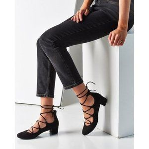 Urban Outfitters Milla Lace Up Heels